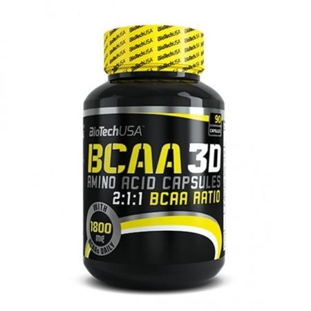 BIOTECH - BCAA 3D (90 caps)