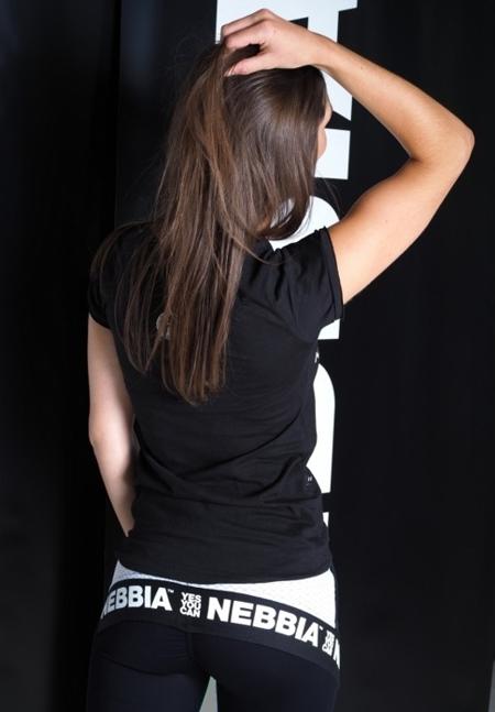 NEBBIA - Koszulka MODEL N277 BLACK NEBBIA