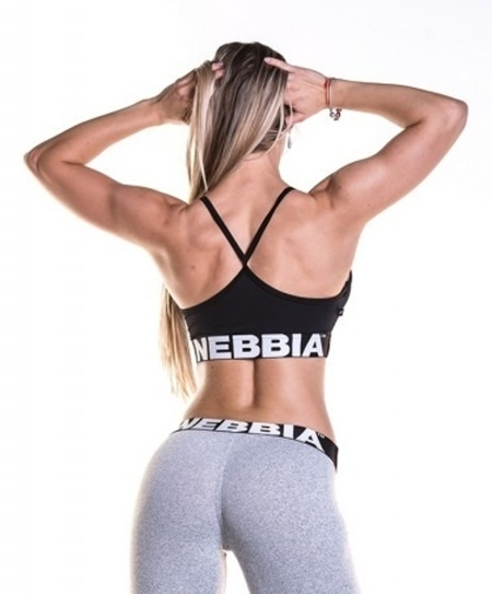 NEBBIA - Sportowy MINI TOP MODEL N285 BLACK
