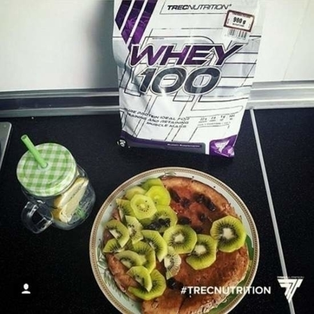 TREC NUTRITION WHEY 100 - 900 G COOKIES