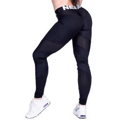 NEBBIA - LEGGINSY NETWORK MODEL N284 BLACK (PUSH UP)
