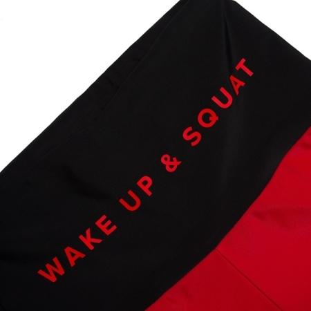 WAKE UP AND SQUAT - BIKE SHORTS (Panel)