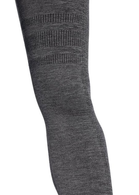 "LEGGINSY BEZSZWOWE ""24H"" GREY MELANGE (PUSH UP)"
