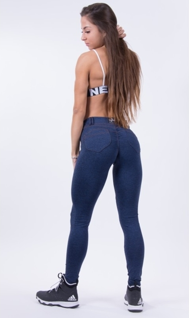NEBBIA - Bubble Butt N251 blue (PUSH UP)