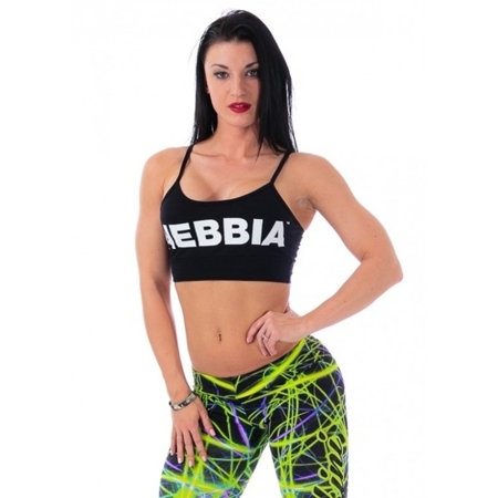 NEBBIA - Sportowy mini TOP HOT MODEL N264 Black