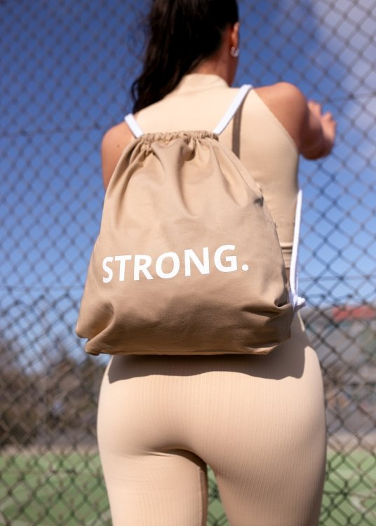 Plecak STRONG. - BEIGE