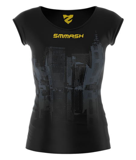 SMMASH - FIT T-SHIRT WOMAN R6 BATCAT