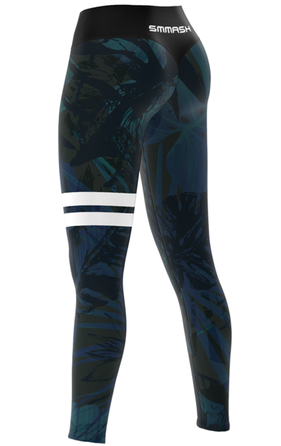 SMMASH - LEGGINSY L5 TROPICA (PUSH UP)