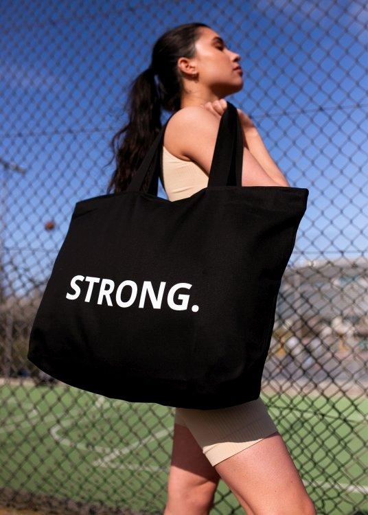 Torba STRONG. - BLACK