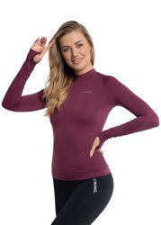 BEZSZWOWY LONGSLEEVE (RED WINE)