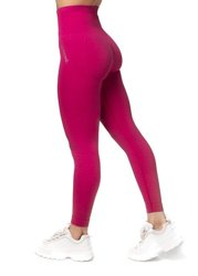 Bezszwowe Legginsy Double Push Up Revolution. Raspberry