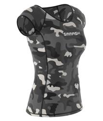 SMMASH - FIT T-SHIRT WOMAN R6 CAMO